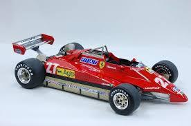 1:8 ferrari 126c2 f1 engine: 1 12 Ferrari 126c2 Ver C San Marino Gp Mfh K435 Model Factory Hiro