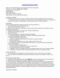 Address Format On Resume How to format A Resume Beautiful Address format Resume Resume 7