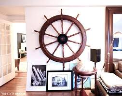 captains wheel decor ship wheel wall decor house tour upper west side pad ship steering wheel captains wheel decor captain ship