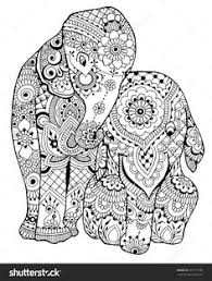 Elephant Coloring Page Luxury Free Printable And Baby Adult Download