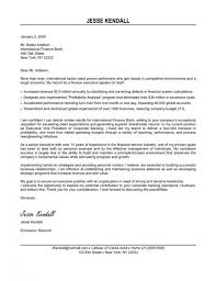 Cover Letter Sample Executive