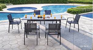 china outdoor indoor patio furniture dining sets garden dining table and chairs supplier