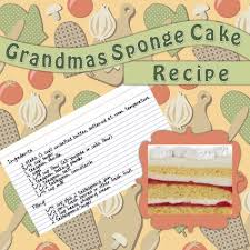 Recipe Page Layout Kitchen Scrapbook Ideas Lovetoknow