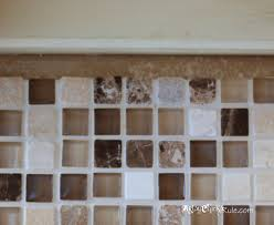 Diy Tile Kitchen Backsplash Kitchen Tile Backsplash Do It Yourself Artsy Chicks Rulear