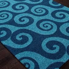 jaipur rugs coastal wave hello 2 x 3 indoor outdoor rug aqua blue ultimate patio