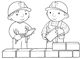 Small Picture Printable Outline Of Bob The Builder Coloring Coloring Pages