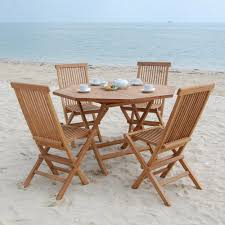 photo of wood folding table and chairs set with wood folding table could collection in small folding wooden