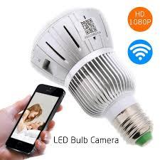 Hd 1080p Full Hidden Wifi Ip Light Bulb Camera Mak Rack
