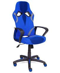 Купить Компьютерное <b>кресло TetChair Runner</b> игровое, обивка ...