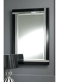 art deco wall mirror australia homely design modern black strip beveled glass thumbnail 1 mirrors for