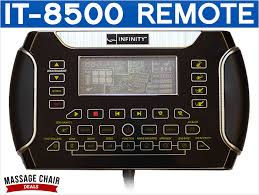 massage chair remote control. infinity it-8500 massage chair remote control