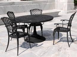 wrought iron garden furniture. Wrought Iron Patio Set Table Chair Furniture For Garden