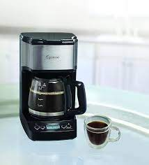 Automatic drip coffee makers have long been a great supporter of coffee makers, so it is normal that they become standard models in most households around the world. Amazon Com Capresso 5 Cup Mini Drip Coffee Maker Black And Stainless Steel Kitchen Dining