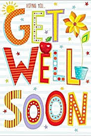 Get Well Card Get Well Soon Card Hoping You Get Well Soon Pretty Get Well Card Get Well Wishes Get Well Greeting Card