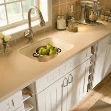 white laminate countertop prefab laminate countertops white cottage kitchen cabinet with open shelf grey