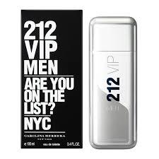 Perfum <b>212 Vip Men</b> Masculino Eau de Toilette - Carolina Herrera ...
