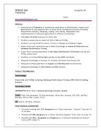 Database performance tuning resume. Ms sql server dba sample resume