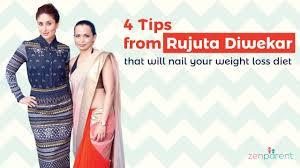 Rujuta Diwekar Food Chart 4 Tips From Rujuta Diwekar That Will Nail Your Weight Loss