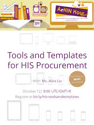 Tools And Templates For His Procurement