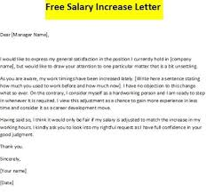 raise salary letter formal letter for salary increase perfect photo salary increase
