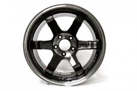 volk racing te37sl wheel pressed double black 18x10 5x114 3
