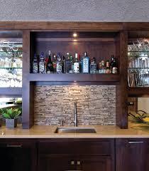 basement wet bar sink with tile backsplash lanewstalk com