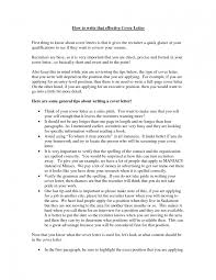 Effective Cover Letter For Resume Best of Pretty Writing An Effective Cover Letter 24 How To Write Cv For Your