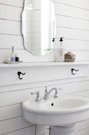 que Design Ideas Bathroom Sink Shelves Floating Home And