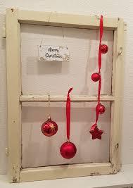 Vintage Fenster Weihnachten Rot In 6800 Feldkirch For