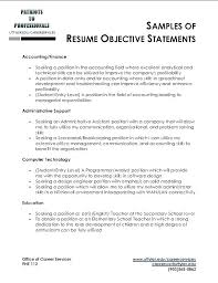 Good Career Objectives For Resumes Englishor Com