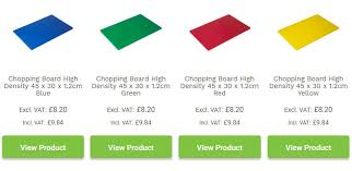 The Ultimate Guide to Plastic Colour-Coded Chopping <b>Boards</b>