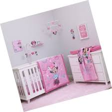 disney baby minnie mouse all about bows 4 piece nursery crib bedding set pin