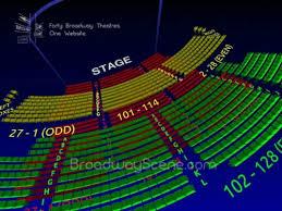 Majestic Theatre Phantom Broadway Seating Charts History