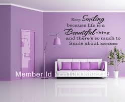 Marilyn Monroe Bedroom Decor Aliexpresscom Buy Marilyn Monroe Quote Wall Sticker Keep
