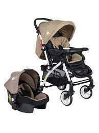 4 Baby Active Travel Sistem Bebek Arabası Kahverengi Fiyatı 5797