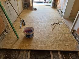 """Daher stammt die englische abkürzung """"oriented strand board bzw. Osb Platten Boden Verlegt Hartlich Putz Farbe Gmbh Facebook"""