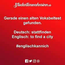 Lustiger Spruch Englisch Kann Ich Studentenwahnsinn