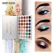 beauty glazed eyeshadow palette impressed you eye shadow makeup matte shimmer eyeshadow palette professional brand cosmetics eye makeup for brown eyes