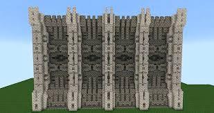 minecraft wall designs. Minecraft Wall Designs Without Wood