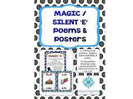 Bossy E / Magic E Poems and Posters by ResourcingTime - Teaching ...