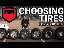 Jeep Lift Kit Tire Size Chart Teraflex Tech Choosing Tires For Your Jk
