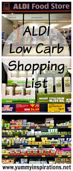 Grocery Store Product List Aldi Low Carb Shopping List Video Grocery Haul