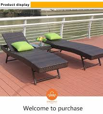 garden patio chaise lounge lying bed