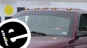Pacer Led Cab Lights Etrailer Pacer Performance Hi Five Led Dodge Truck Cab Lights Review