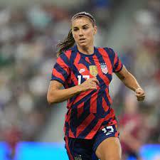 Alex Morgan on U.S. women's soccer team ...
