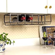 harmony under cabinet wine rack