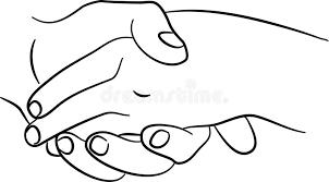 L'enfant est la première année de la naissance. Mains Emouvantes Illustration Stock Illustration Du Couples 1624298