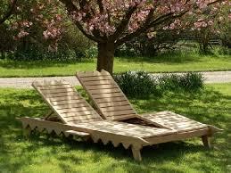 oak iroko garden furniture sunlounger indian lattice style