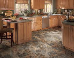 Flooring For A Kitchen Kitchen Flooring Options With Wood Appearance Traba Homes