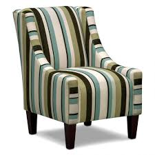Chairs:Accent Chair With Armrest And Vertical Lining Motif For Occasional  Ideas Unique Chairs Funiture